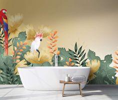 Pura essenza: i rivestimenti Pixie sono profumati Pixie, Planter Pots, Wallpaper, 3, Grande, Bathroom, Design, Fiber, Houses