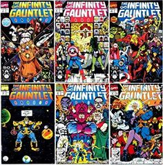 $250.00 Prizes includes an original 1994 print run of The Infinity Gauntlet limited series comic books in near-mint condition, Marvel Legends Series Electronically Articulated Infinity Gauntlet, your choice of Avengers character t-shirts in your size,...