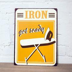 Metal Sign Iron Wall Décor