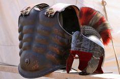 Roman gladiator armour