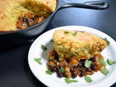 vegetable tamale pie - Budget Bytes