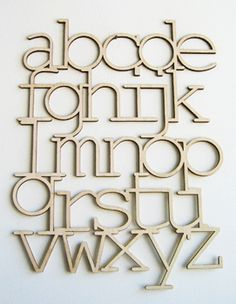 alphabet :: bookhou: to hang on your wall or to have it lean on a shelf... either way, it'll look great!