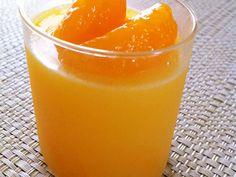 オレンジジュースで簡単みかんゼリーの画像
