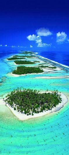 Motu en Polynésie Française