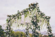 A boho Jewish wedding in Lourensford Wine Estate, Cape Town, South Africa Coral Wedding Flowers, Lilac Wedding, Wedding Flower Arrangements, Boho Wedding, Rustic Wedding, Dream Wedding, Wedding Chuppah, Wedding Ceremony Backdrop, Wedding Venues