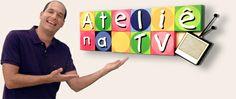 Ateli� na TV, Programa de artesanato, muitos v�deos e novidades