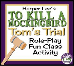 in defense of tom robinson in to kill a mockingbird a novel by harper lee To kill a mockingbird by harper lee: appoints atticus to defend a black man, tom robinson (brock i think perhaps the great appeal of the novel is that it.