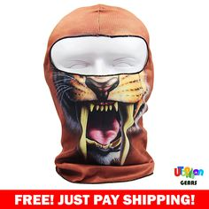OMG! Our fans are raving about these all new 2017 designer skull masks. While supplies last.Get Yours Here -> http://gph.is/2rzGZLaGet Yours Here -> http://gph.is/2rzGZLa