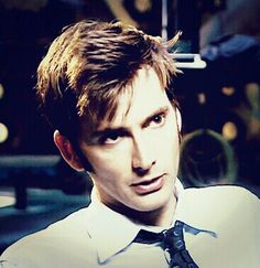 David Tennant. Pouty, lower lip of doom.
