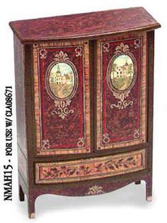 """1"""" Scale Dollhouse Mini Decoupage Decal For Cla08671, Dolls & Bears :: Dollhouse Miniatures :: Bullszi.com"""