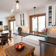 new counter space in kitchen remodel Cabinet Companies, Counter Space, Custom Cabinets, Countertops, Kitchen Remodel, Flooring, Design, Home Decor, Custom Closets