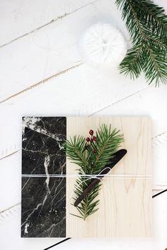 DIY Marble Cutting Board
