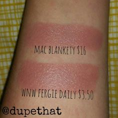 """""""We recently fell in love with @maccosmetics """"blankety"""" because its such a gorgeous nude. But we know the challenging journey of """"finding the perfect nude…"""""""