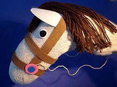 Anleitung für eine Pferd- Stick Horse easy Photo instructions