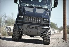 Bremach started building utility vehicles in the 60s, their latest model is this electric monster truck appropriately named Bremach T-Rex. The impressive adventurer is electric powered and energy efficient, producing 134 horsepower and making it capa