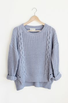 Winslet Sweater Fall Sweaters, Cable Knit Sweaters, Sweaters For Women, Cute Fall Outfits, Chic Outfits, School Fashion, Dress To Impress, Beautiful Outfits, Winter Fashion