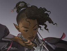Charlie Bowater is creating Illustrations Fantasy Character Design, Character Creation, Character Design Inspiration, Character Concept, Character Art, Character Ideas, Black Characters, Dnd Characters, Fantasy Characters