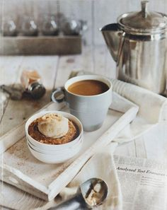 coffee and dessert, the perfect combination :)