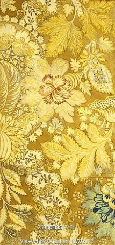 Design for woven silk, by Anna Maria Garthwaite. London, England, early 18th century