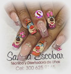 Beauty Brushes, Nail Designs, Nails, Vintage, Finger Nails, Nail Art Designs, Nail Decorations, Clothes Patterns, Adorable Animals