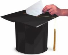 Before graduation have everybody or a lot of people write a note to my two brothers and fill a jar with them. Ask teachers, friends and their parents, grandparents and cousins and much more