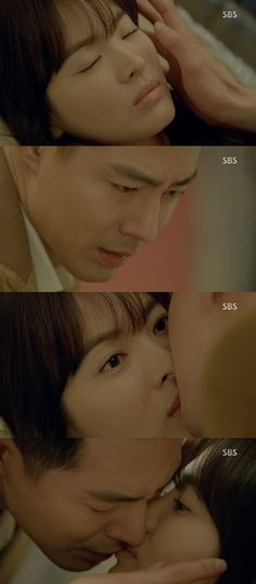 """That Winter, The Wind Blows"" Jo In Sung Kisses Song Hye Kyo While She is Asleep ""I Love You"""