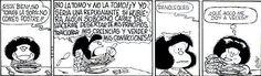 Mafalda y.....la sopa.....