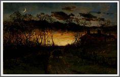 Edward Mitchell Bannister (1828-1901), Crépuscule - 1883
