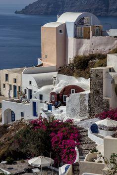 Cave Houses in Oia, Santorini