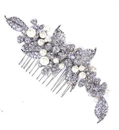 Madrid hair comb by Ivory