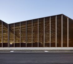 Image 1 of 13 from gallery of Smestad Recycling Centre / Longva arkitekter. Photograph by Ivan Brodey Factory Architecture, Timber Architecture, Industrial Architecture, Contemporary Architecture, Architecture Design, Recycling Plant, Recycling Center, Warehouse Design, Recycling Facility