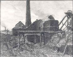 Constantin Meunier : Deserted coal-mine / Verlaten steenkoolmijn