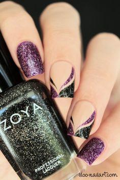 zoya liloo nail art