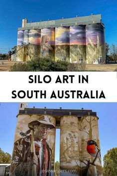 Are you road tripping through South Australia? Take a look at the locations of the fantastic silo art throughout the state and make sure you work these into your itinerary. Click through to start your planning now. #southaustralia #siloart #southaustraliasiloart #australia #travel #roadtrip Australia Travel Guide, Visit Australia, South Australia, Beautiful Places To Visit, Cool Places To Visit, Australian Road Trip, Kangaroo Island, New Zealand Travel, Local Events