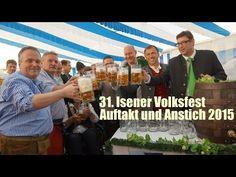31. Isener Volksfest 2015 - die Eröffnung mit Anstich am 24.06.2015