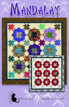 Asian influenced lap and throw. Mandalay Quilt Pattern BCC-244 by Black Cat Creations - Jamie Elfert.  Check out our bed runner patterns. https://www.pinterest.com/quiltwomancom/bed-runners/  Subscribe to our mailing list for updates on new patterns and sales! https://visitor.constantcontact.com/manage/optin?v=001nInsvTYVCuDEFMt6NnF5AZm5OdNtzij2ua4k-qgFIzX6B22GyGeBWSrTG2Of_W0RDlB-QaVpNqTrhbz9y39jbLrD2dlEPkoHf_P3E6E5nBNVQNAEUs-xVA%3D%3D