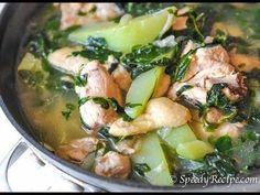 Chicken Tinola Recipe - speedyrecipe.com