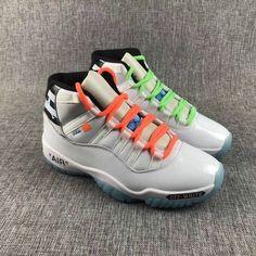 db5bcbda506b Air Jordan 11 Off_White AJ11 Kevin Durant Basketball Shoes, Air Jordan  Basketball Shoes, Nike