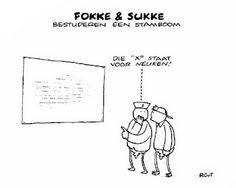 Fokke & Sukke bestuderen een stamboom Genealogy Humor, Haha, Funny Pictures, Cartoons, Jokes, Illustrations, Tattoo, Lifestyle, Comics
