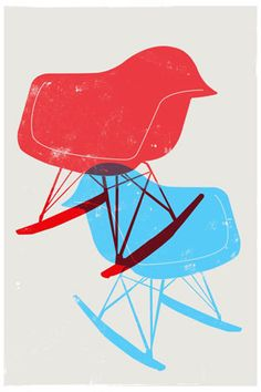Eames Chair Poster