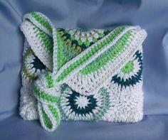 Crochet pattern Crochet purse bag tablet case instant download