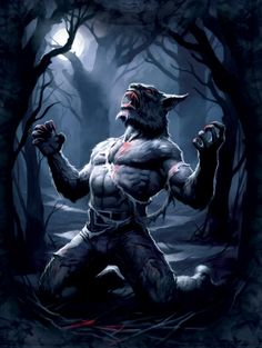 wearwolf creepy story halloween costume