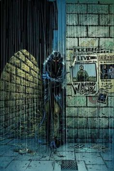 Nightcrawler... What are you doing out in the rain Kurt? Kurt: I could ask you the same thing, Lauren.