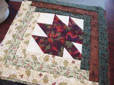Marti Michell, fat quarter, log cabin, maple leaf, fall quilt