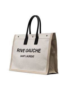 c289e40e37c6c Saint Laurent Rive Gauche Tote Bag