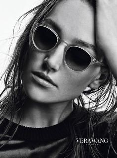 Joséphine Le Tutour for Vera Wang Collection & Eyewear Campaign by Patrick Demarchelier