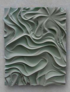Drapery (2009) by Daniel Widrig Studio , via Behance
