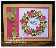 Kim Cagle: Stamp and Sew For Fun - Additional Wreaths - 9/29/14