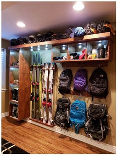 ✔ 40 home improvement projects and housewares 8 - ✔ 40 home improvement projects and housewares # DIY furniture projects - Diy Garage Storage, Garage Organization, Garage Storage Cabinets, Storage Racks, Storage Room, Organization Ideas, Diy Furniture Projects, Home Projects, Furniture Design