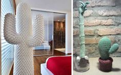 Ideas para decorar con cactus de imitación  |  DECOFILIA.com